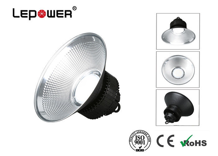 Cool White LED Warehouse Lighting Fixtures 150w , Durable Industrial High Bay Lights 100lm / W