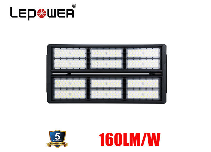 Football Pitch LED Stadium Flood Light 90000lm 600W 10 Degree With MW Driver